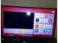 "50"" smart tv, hitachi ,perfect working condition"