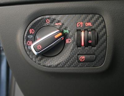 2511 Licht (Audi TT TTRS TTS Roadster Cabrio 8J MK2 Carbon Folie Lichtschalter Coming Home)