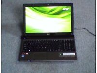 Acer aspire 5560 15.6hd led lcd