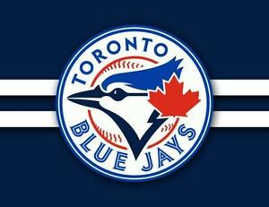 BLUE JAYS - GREAT FIELD LEVEL SEATS - HOME OPENER, CANADA DAY and games throughout the season