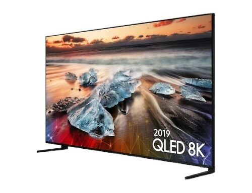 Samsung Q900 Series QN75Q900 75in. 4320p 8K UHD QLED Smart TV - Black
