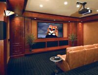 Home theater and all home audio installation services.