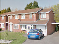 A Very Nice, 3 Bedroom, Semi Detached House for Rent £625 PCM, Willenhall, WV13 3ET