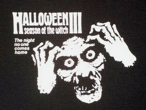 PATCH - Halloween III - canvas screen print HORROR movie - Season of the Witch 3