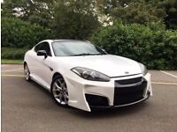 SPECIAL EDITION HYUNDAI COUPE SIII 2.0 RARE WHITE MODIFIED HPI CLEAR NOT TSIII RX7 CELICA MR2 RX8