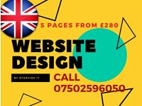 Web Design | Cheap web design | SEO |Professional Website Developer | £280