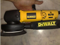 Dewalt, DW443, I serve two purposes- Car Detailing polisher or double up as a sander.