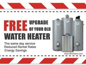 Hot Water Heater Rental - Reduced Rental Rates - FREE Installation - 2 Months FREE