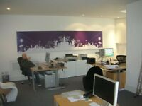 Newly refurbished 800 sq ft Open Plan Ground Floor Office Space to let in Acton W3