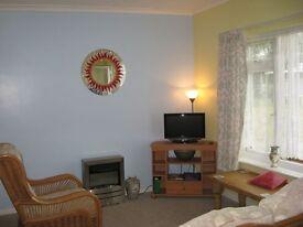Seaside holiday chalet for rent in beautiful N Norfolk Mundesley