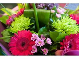 Experienced Full or Part Time Florist Required at Urban Design Flowers