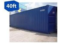 40 foot high cube steel shipping container storage container site container site store