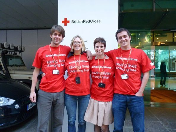 FUNDRAISERS JUST WANT TO HAVE FUN- JOIN THE RED CROSS £15 - 22k