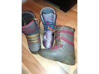 Snowboard boots, Thirty Two Prospect - Men's size 7 (EU41) WORN TWICE