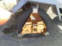 Wheel Clamp heavy duty