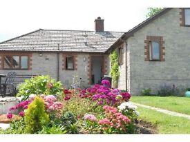 Double room in village near Bridgwater (Bungalow)