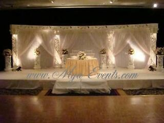 Asian Wedding Stage Hire £299 Chair Cover Hire 89p Nigerian