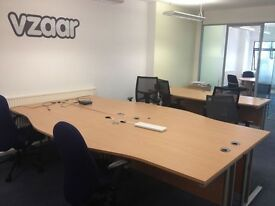 4 Desks for Rent in Relaxed Tech Office (Vauxhall, Super Convenient)
