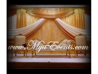 Chair Cover Hire 79p Wedding Stage Hire £299 Wedding Catering £5.99 Packages £9 Starlight Backdrop   Picture 7