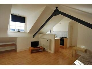 Great Modern Top Floor Studio Apartment on Fulham Palace Road, West London  Picture 1