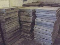 Reclaimed paving slabs can deiver