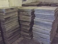 Reclaimed paving slabs can deliver