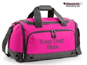Personalised-Sports-Training-Holdall-Gym-Kit-Bag-Your-Text