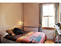 Double room furnished in big house facing park, near City & Canary Wharf