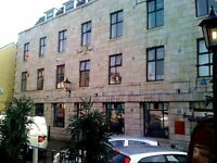 Various size rooms to rent for small or larger businesses in the centre of Swansea. Ideal location.