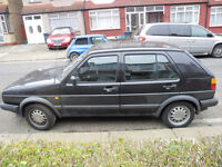 Breaking vw MK1 and MK2 golf parts V5 door bonnet and more
