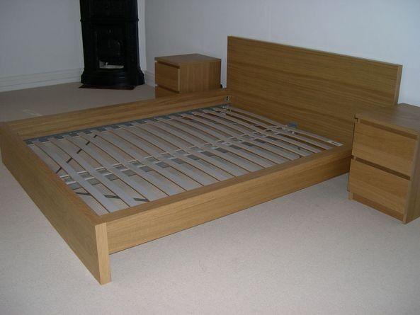 Ikea King Size Malm Bed Frame