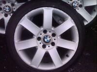 17ich BMW alloys *All legal tyres*