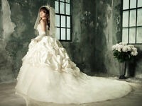 NEW Wedding Dress in Size 4 Lace Up backing
