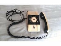 COLLECTIBLE/ANTIQUE/ART DECO BEAUTIFUL ROTARY TELEPHONE, RETRO 1960s, VERY SPECIAL GIFT FOR SOMEONE