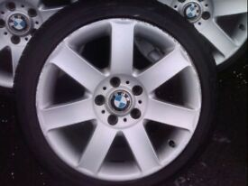 BMW E46 3 Series 17inch Alloy Wheels