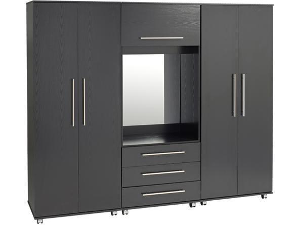 Extra Large 4 Door Wardrobe With Mirror From Wayfair In