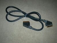 ~~## GOLD or Nikel Plated SCART Cable/Lead ##~~