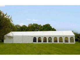 Professional clearspan Marquee 40x70ft