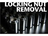 Locking Wheel Nut Removal Specialist Mobile
