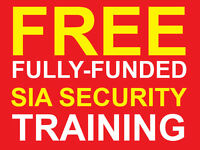 Free SIA Security Course + SIA Licence - Door Supervisor and CCTV Training in East London