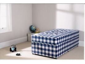 Single Divan With Mattress From £99