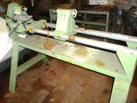 Wood Turning Lathe - HDM-1000 - 4 Speed