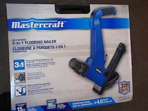Hardwood Floor Nailer - pneumatic - new - never opened / used