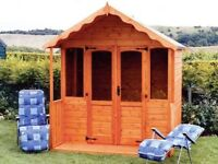 Catcliffe Summerhouse Tongue & Groove Shed 7ft x 7ft £870 Inc Delivery & Erection 0161 962 9127