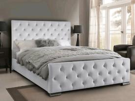 Premium Designer Upholstered Beds! Sleigh, Princess, Ottoman & more!