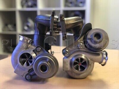 NEW PURE N54 UPGRADE TURBOS NO CORE CHARGE For BMW 07 10 135 335  all 1M