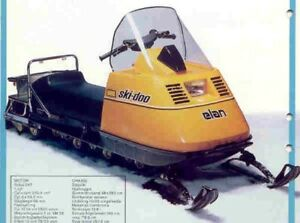 Looking for old snowmobile.