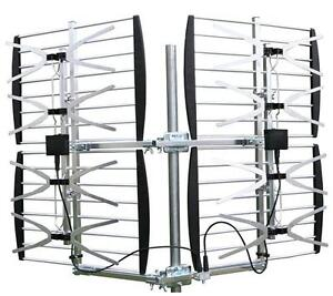 TV ANTENNA 8 BAY OUTDOOR MULTI DIRECTION HD VHF/UHF HD TV ANTENN
