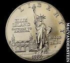 1986 Ellis Island Silver Dollar
