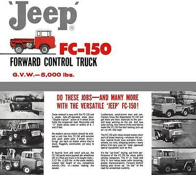 Jeep 1961 - 'Jeep' FC-150 Forward Control Truck